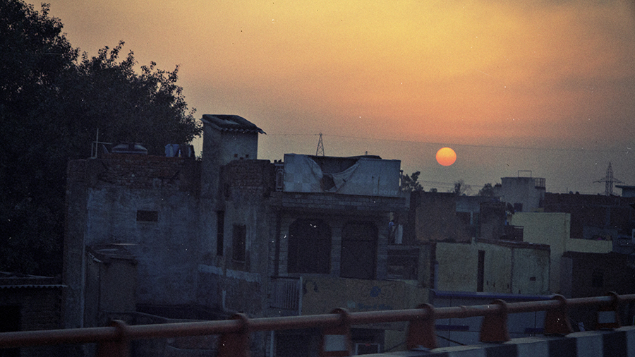 Delhi and the Sunrise